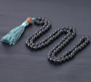 Bohemian Rosary Bead Colored Tassel