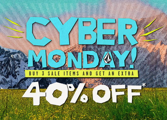 CYBER MONDAY SALE! Buy 3 Sale Items and get an extra 40% Off!