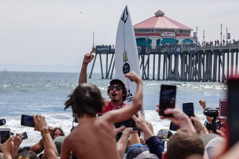 Yago Dora Wins 2019 U.S. Open of Surfing in Huntington Beach, CA