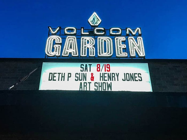 Volcom Garden featuring Deth P and Henry Jones art show