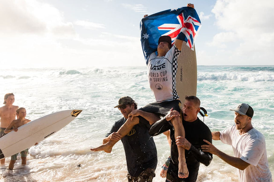 Jack Robinson Wins 2019 Vans World Cup at Sunset Beach & Clinches 2020 WSL Championship Tour Spot
