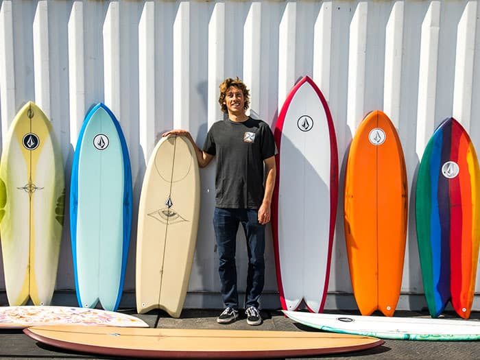 Ryan Burch Surfboards: Breaking Down Asymmetricals, Fishes, Longboards + More!