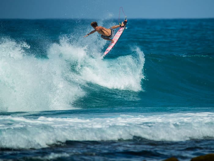 CHARLY QUIVRONT LETS LOOSE IN HAWAII