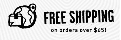 Free Shipping On Orders $65+