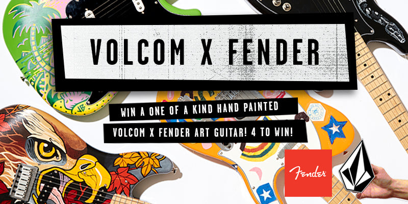 Volcom X Fender Art Guitar Competition