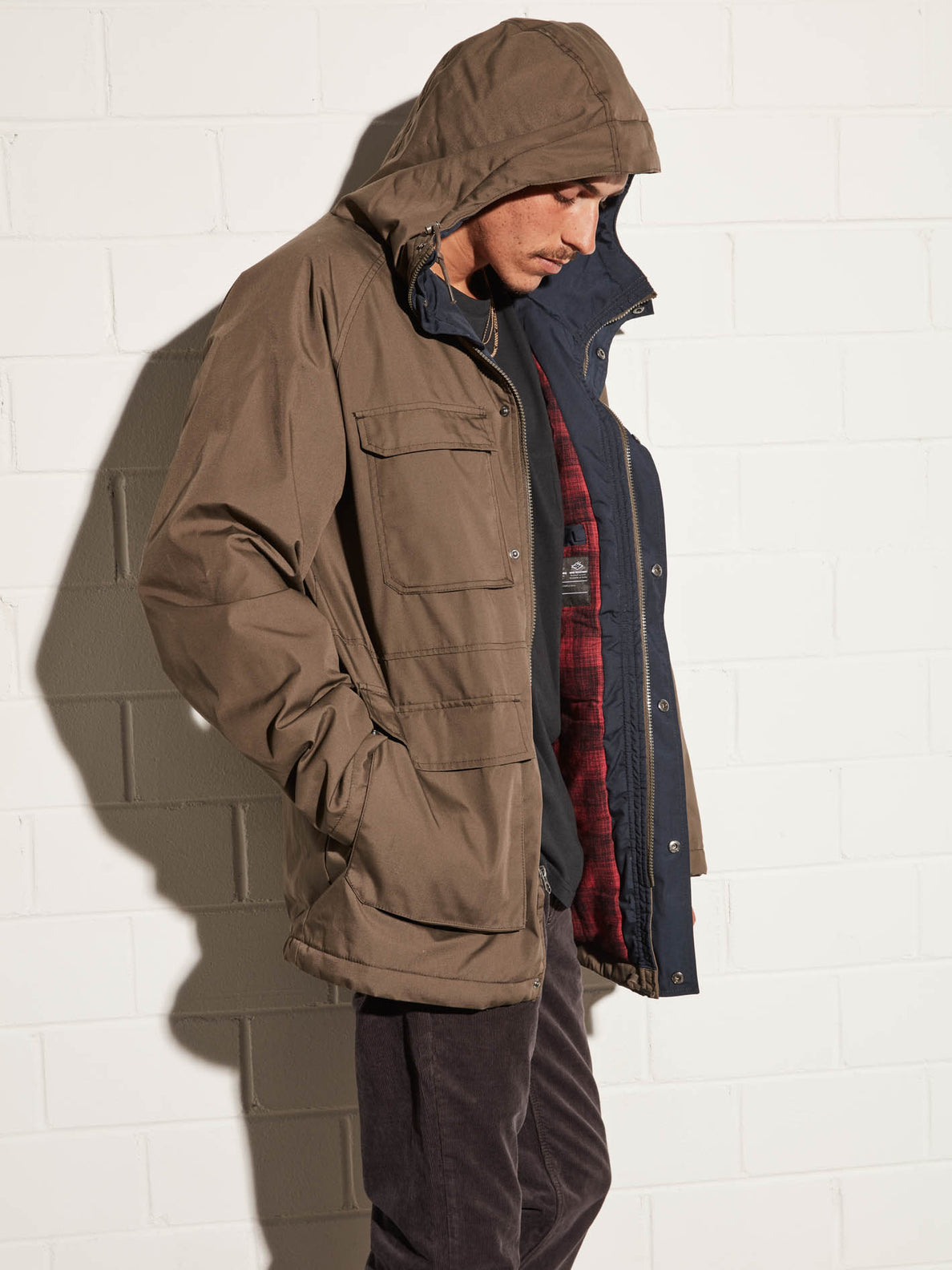 Renton Winter 5K Jacket - Major Brown
