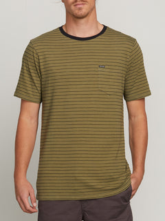 Stories Crew Tee - Vineyard Green