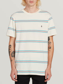 Tehas Short Sleeve Crew White Flash (A0131901_WHF) [F]