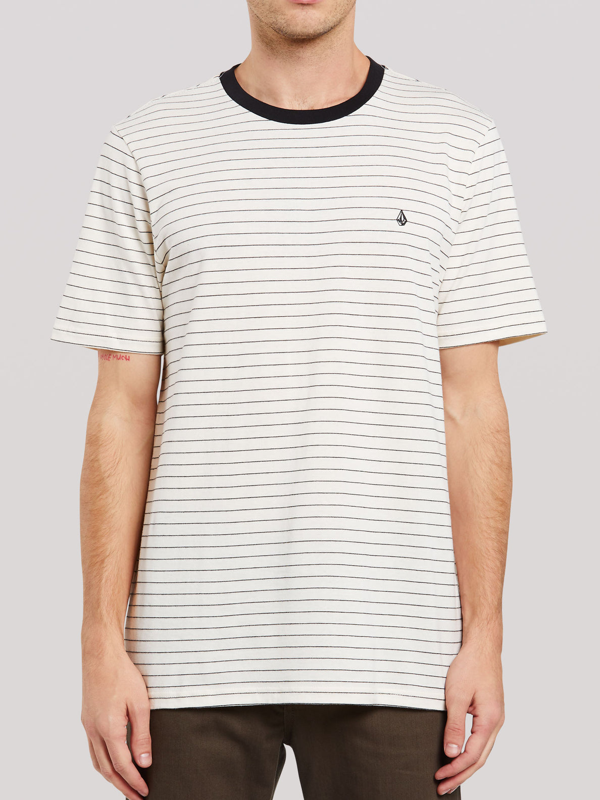 Stories Crew Short Sleeve - Primer White (A0132005_PWT) [F]