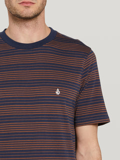 Pillars Stripe Crew S/s Atlantic (A0142002_ATL) [1]