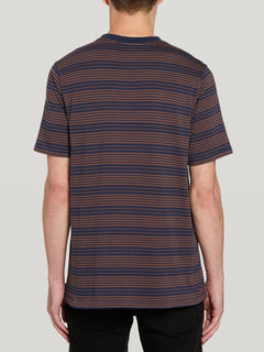 Pillars Stripe Crew S/s Atlantic (A0142002_ATL) [B]