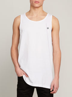 Solid Tank - White (A0241575_WHT) [F]