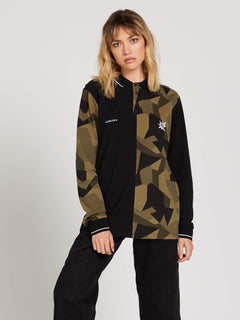 A.P. 2 Polo Long Sleeve - Camouflage (Unisex)
