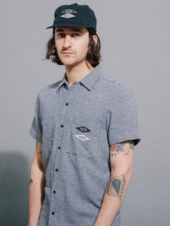 Volcom Industries Button Up Shirt - White