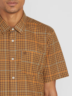 Kelso Plaid S/s Bronze (A0412010_BRZ) [1]