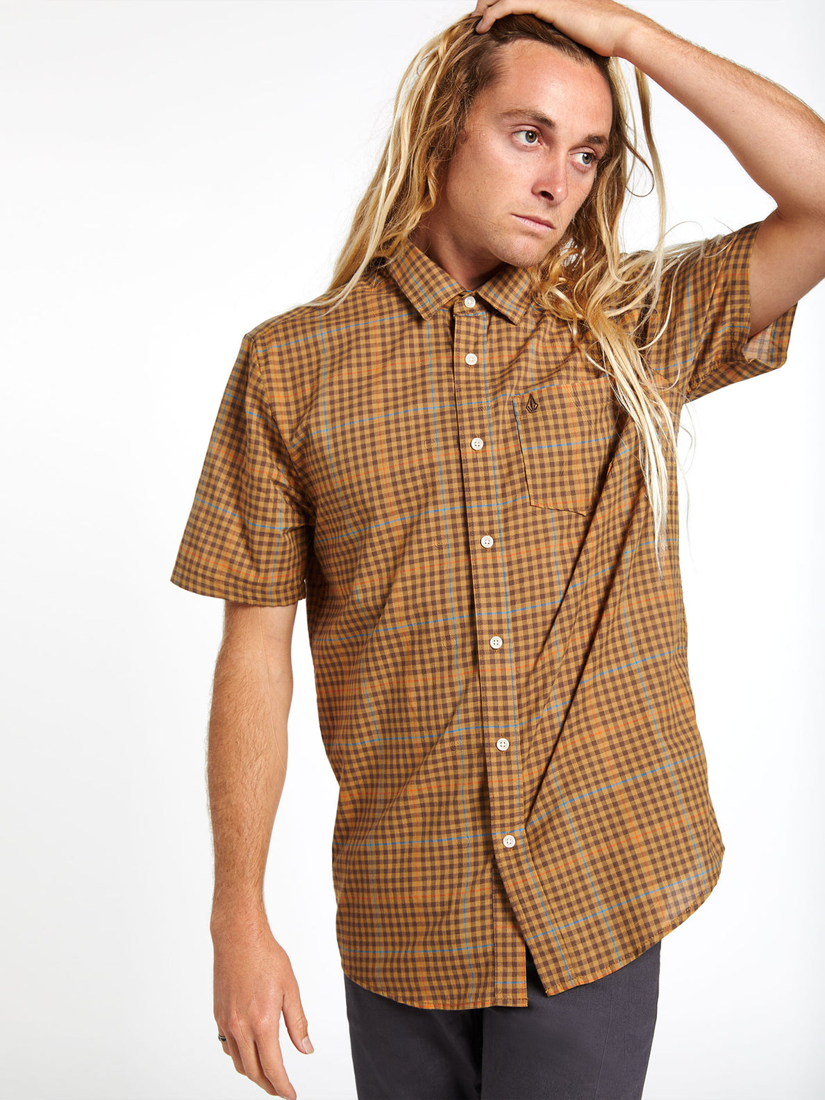 Kelso Plaid S/s Bronze (A0412010_BRZ) [21]