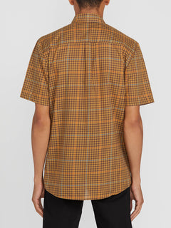 Kelso Plaid S/s Bronze (A0412010_BRZ) [B]
