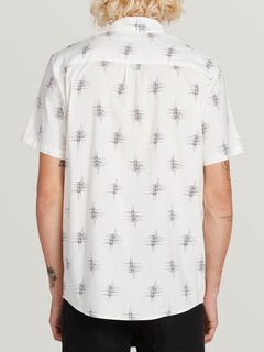 Marker Fade Short Sleeve White (A0431903_WHT) [B]