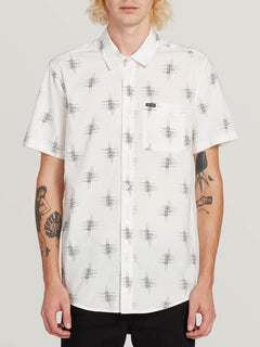 Marker Fade Short Sleeve White (A0431903_WHT) [F]