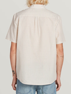Stone Stamp Short Sleeve White Flash (A0431905_WHF) [B]