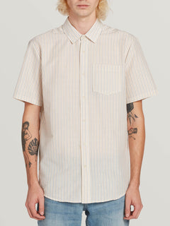 Stone Stamp Short Sleeve White Flash (A0431905_WHF) [F]