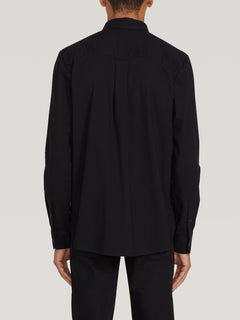 Oxford Stretch L/s New Black (A0511801_NBK) [B]