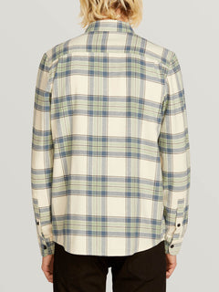 Caden Plaid Long Sleeve - Off White