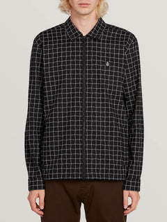 The Dweller Long Sleeve Black (A0531902_BLK) [F]