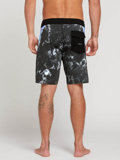 "V Dye Stoney 19"" Boardshorts - Black"