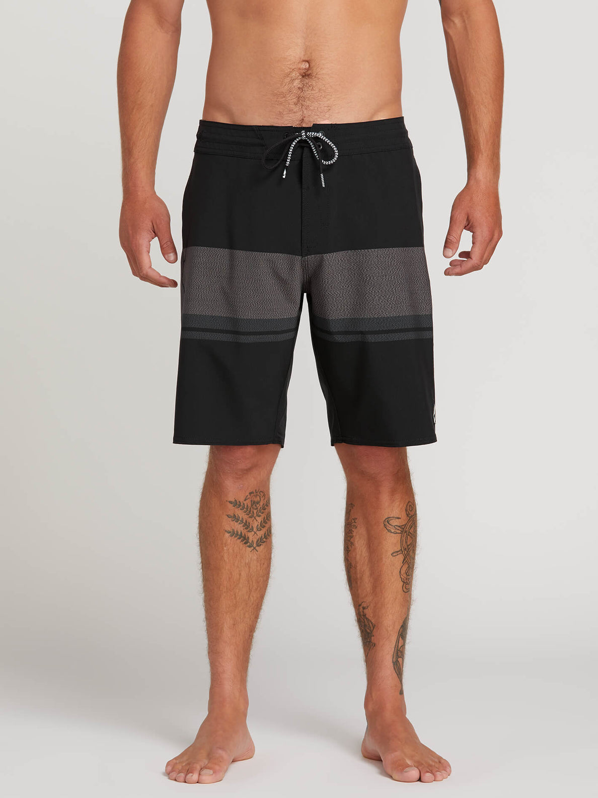 Quarta Static Stoney Boardshorts - Black