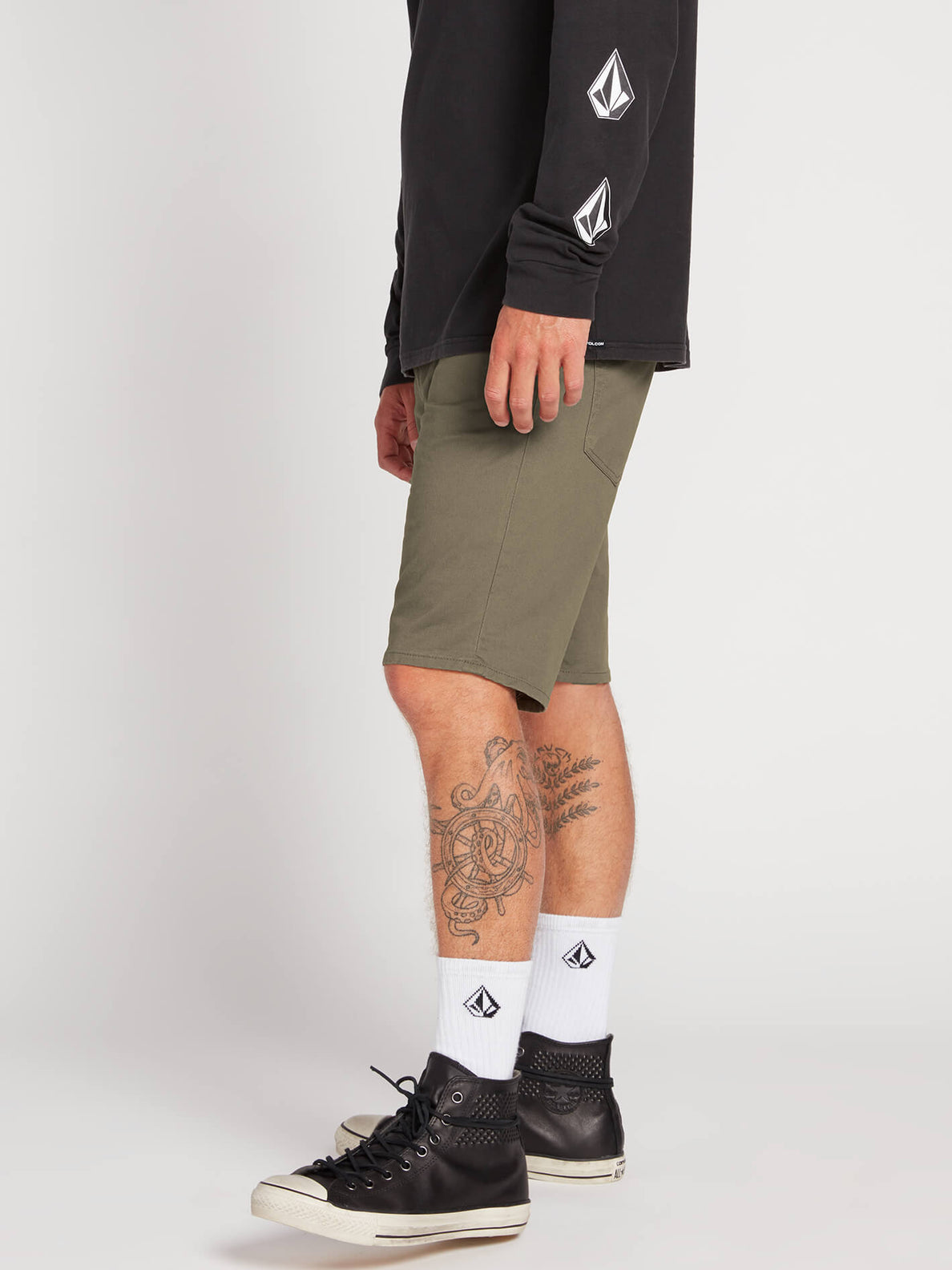 Solver Lite 5 Pocket Shorts - Army Green Combo