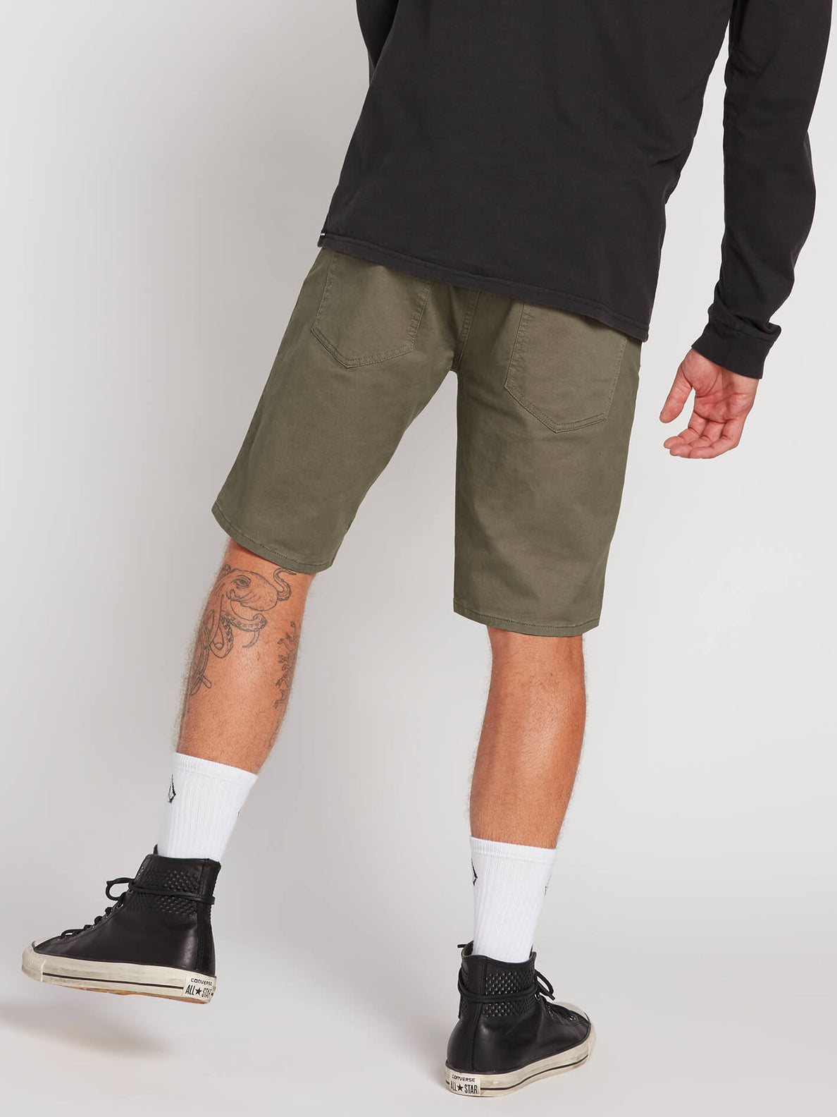 Solver Lite 5 Pocket Shorts - Army Green Combo (A0911708_ARC) [B]