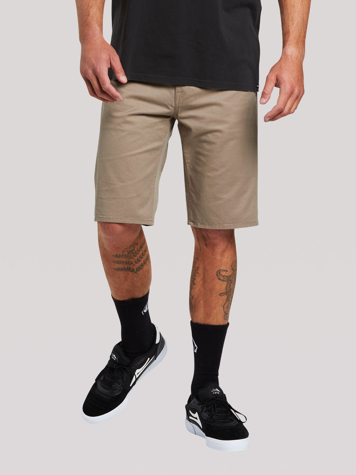 Solver Lite 5 Pocket Shorts - Brindle (A0911708_BNL) [F]