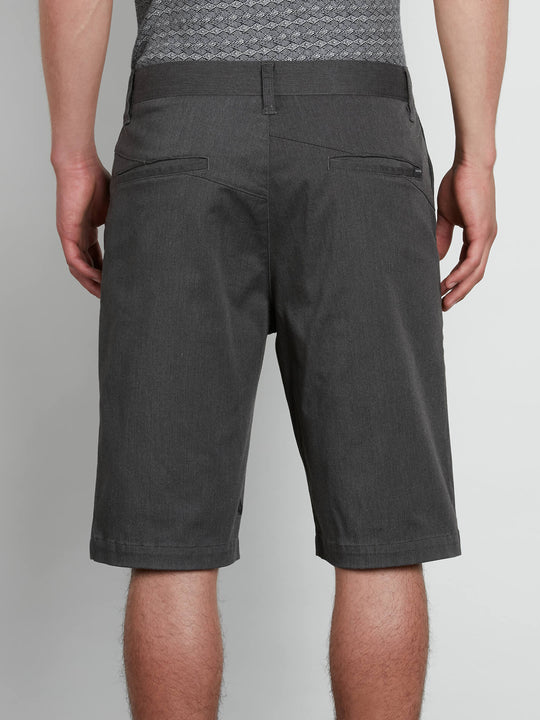 V Monty Stretch Short Charcoal Heather (A09117V3_CHH) [B]