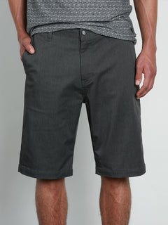 V Monty Stretch Short Charcoal Heather (A09117V3_CHH) [F]