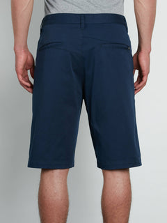 V Monty Stretch Short Dark Navy (A09117V3_DNV) [B]