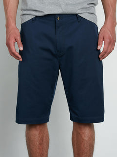 V Monty Stretch Short Dark Navy (A09117V3_DNV) [F]