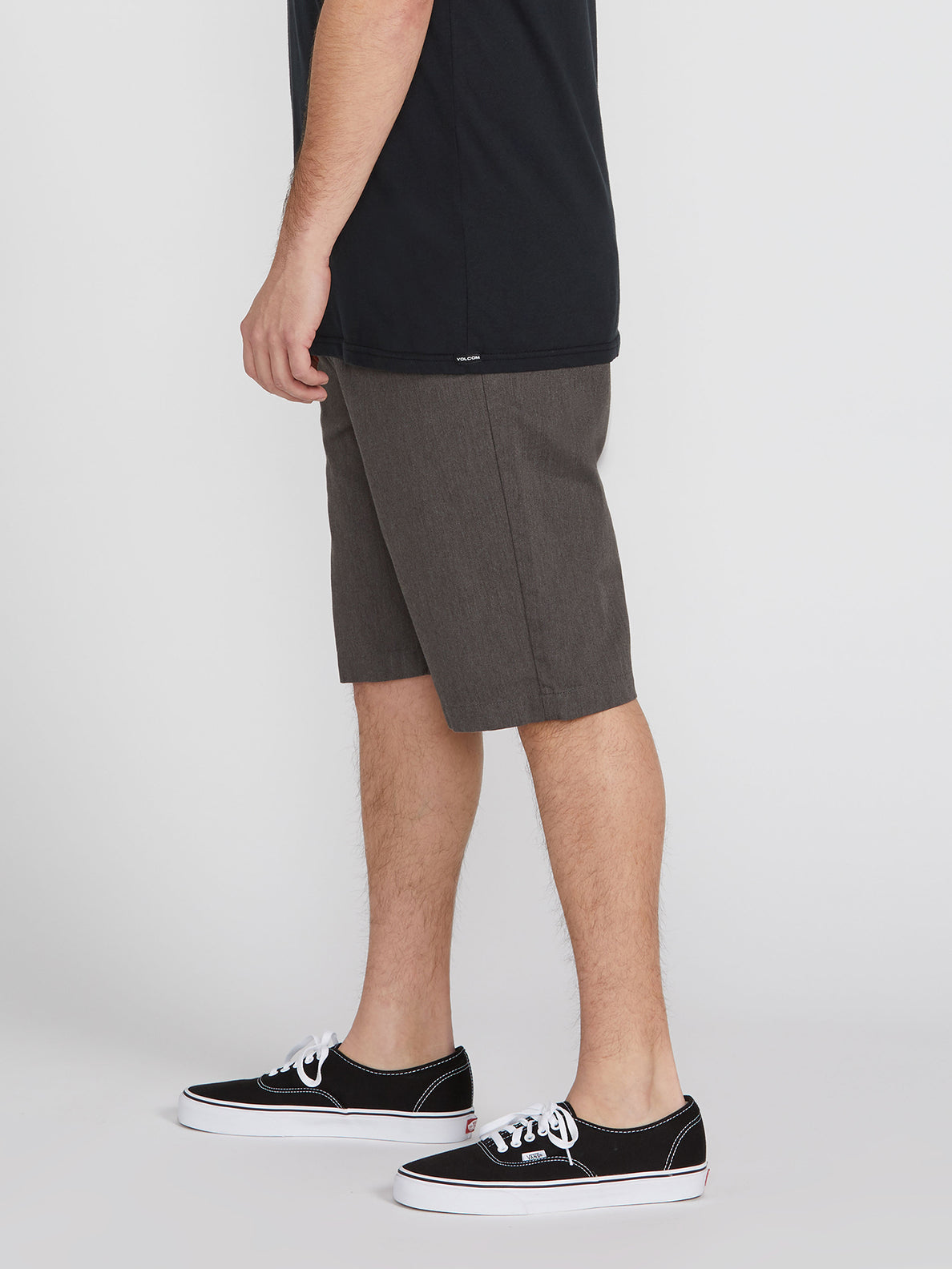 V Monty Short - Charcoal Heather
