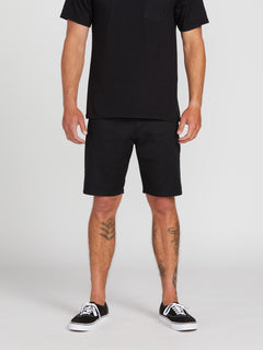Frickin Modern Stretch Chino Shorts - Black (A0931602_BLK) [1]