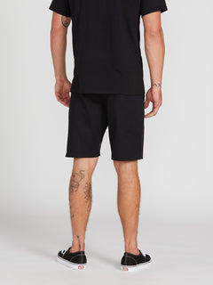 Frickin Modern Stretch Chino Shorts - Black (A0931602_BLK) [2]