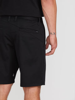Frickin Modern Stretch Chino Shorts - Black (A0931602_BLK) [4]