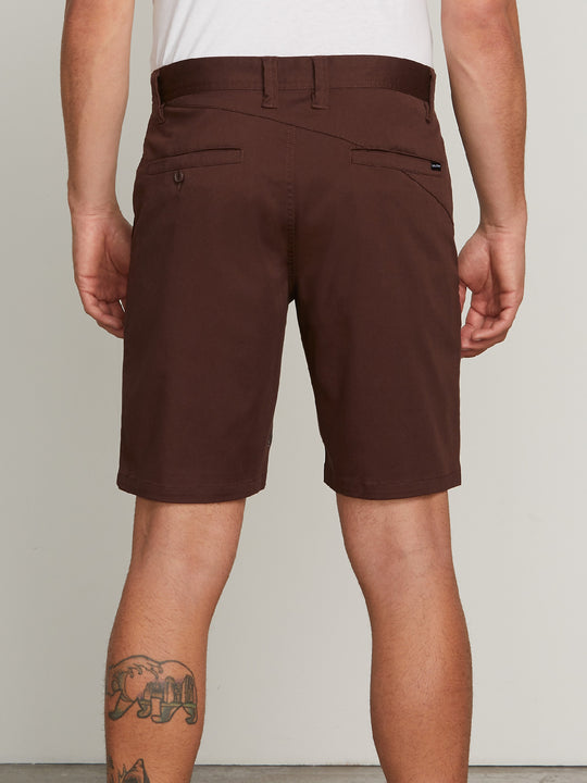 Frickin Modern Stretch Chino Shorts - Bordeaux Brown