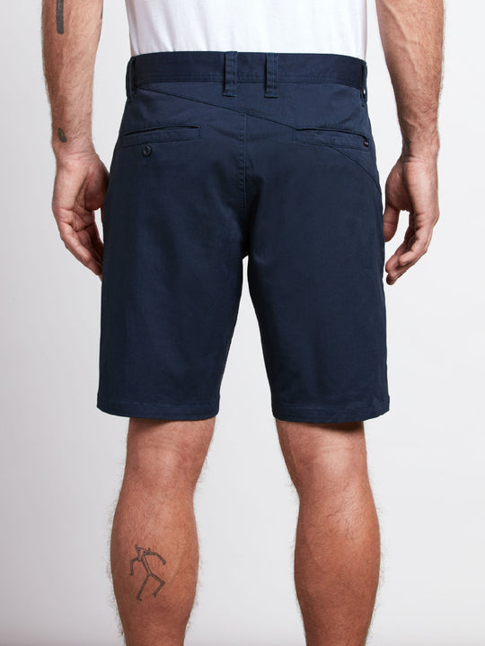 Frickin Modern Stretch Chino Shorts - Dark Navy