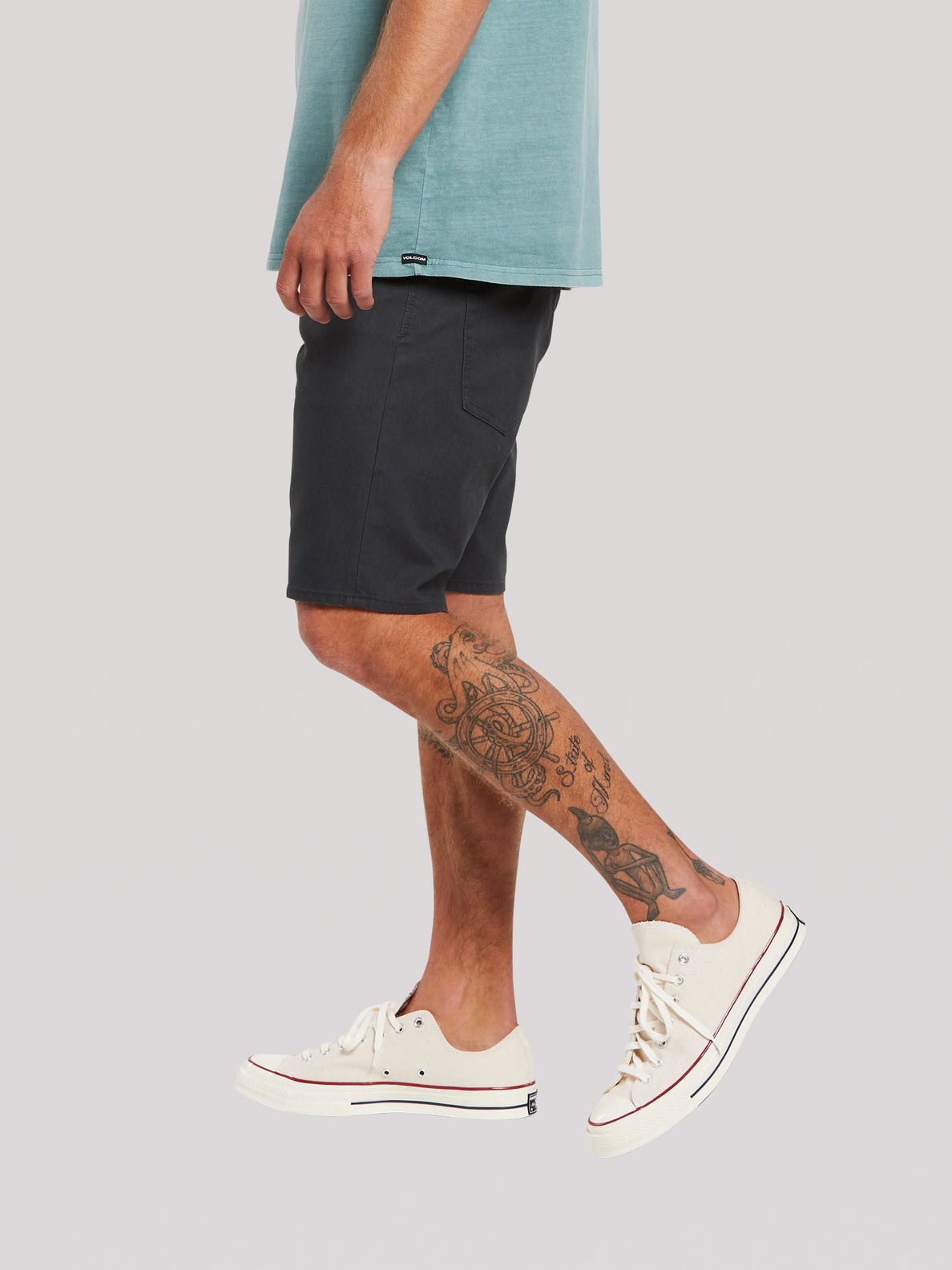 Solver Canvas 5 Pocket Shorts - Stealth (A0932009_STH) [3]