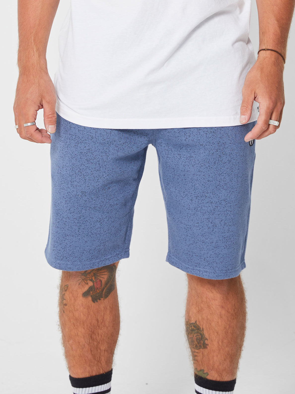 Foreman 2 Speckle Short Deep Blue (A1002004_DPB) [F]