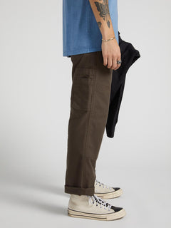 Nailer Canvas Pant - Major Brown