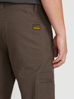Nailer Canvas Pant Major  Brown (A1131902_MBR) [5]