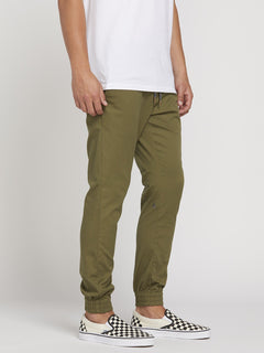 Frickn Modern Tapered Jogger - Army