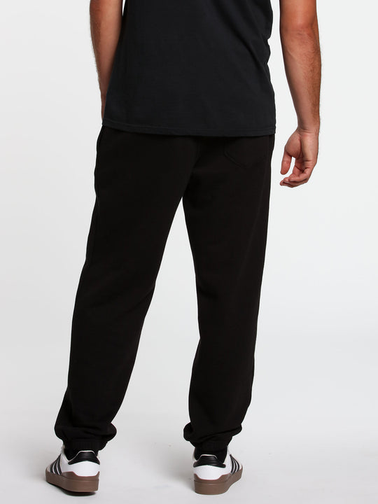 Stone Stack Fleece Pant Black (A1232001_BLK) [B]