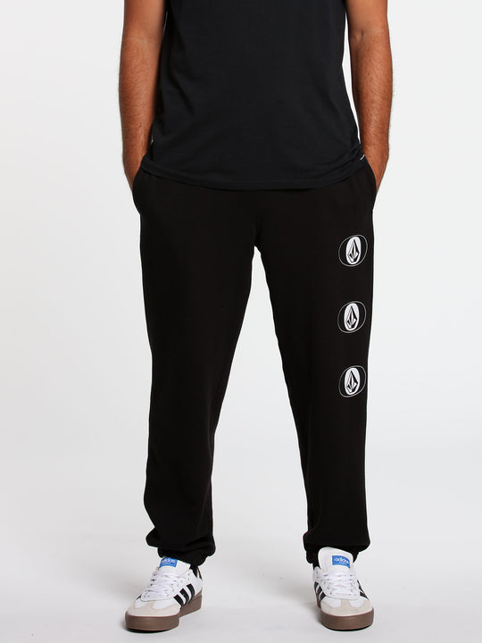 Stone Stack Fleece Pant Black (A1232001_BLK) [F]